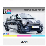 New and Used Mini cars for sale